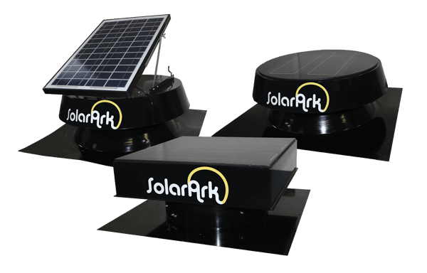 Commercial Solar Powered Roof Vents