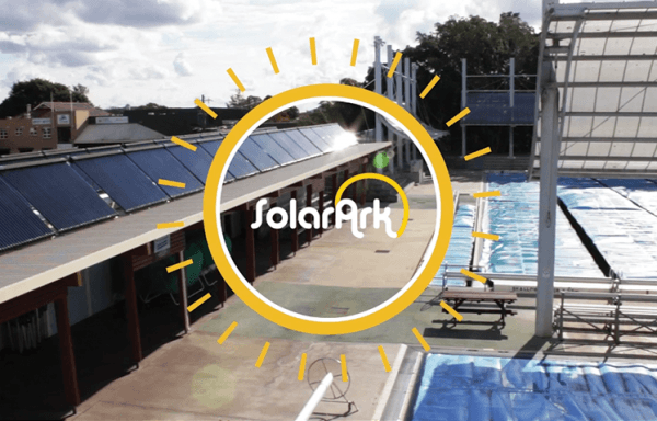 Commercial Solar Pool Heating