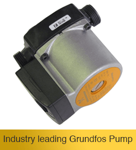Grundfos solar hot water circulation pump