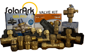 Installation valve kit