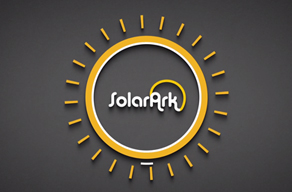 SolarArk logo in illustrated sun