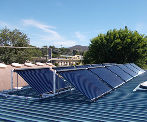 commercial solar hot water systems